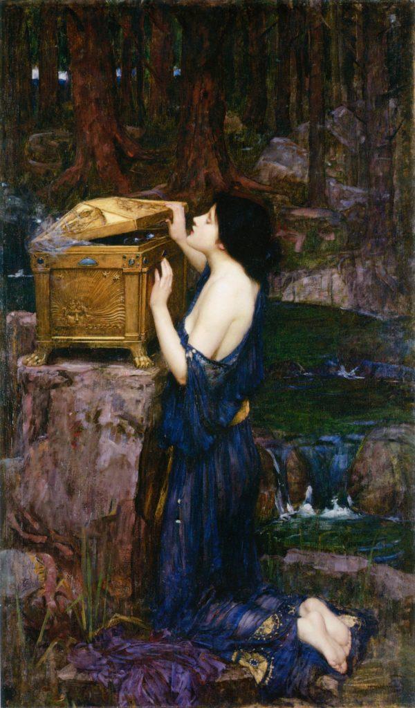 Mitología: La caja de Pandora