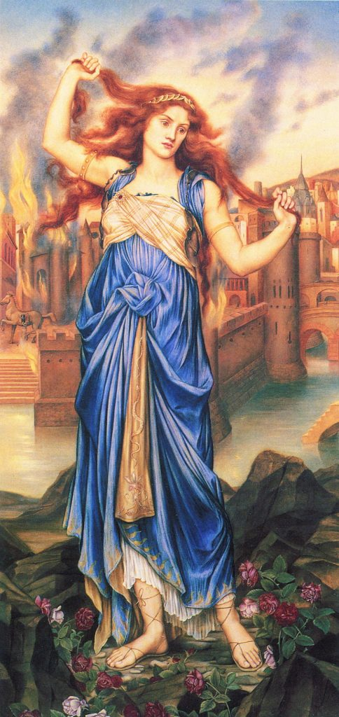 Cassandra por Evelyn de Morgan