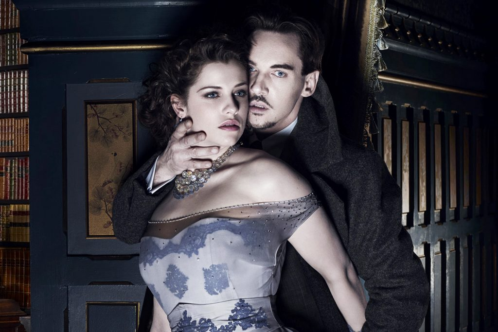 Disfraces victorianos: Dracula y MIna Harker