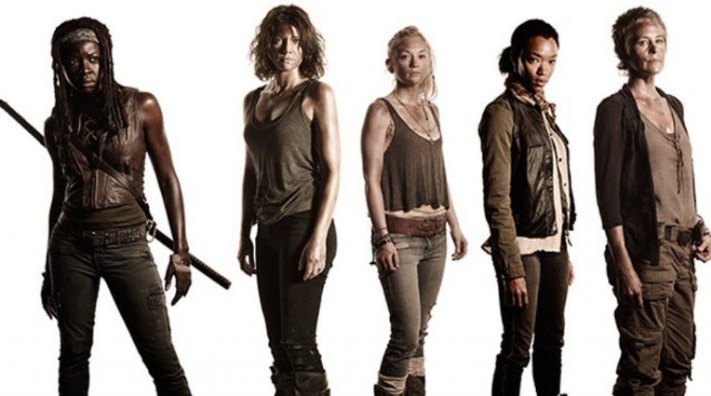 Series con grandes personajes femeninos: The Walking dead