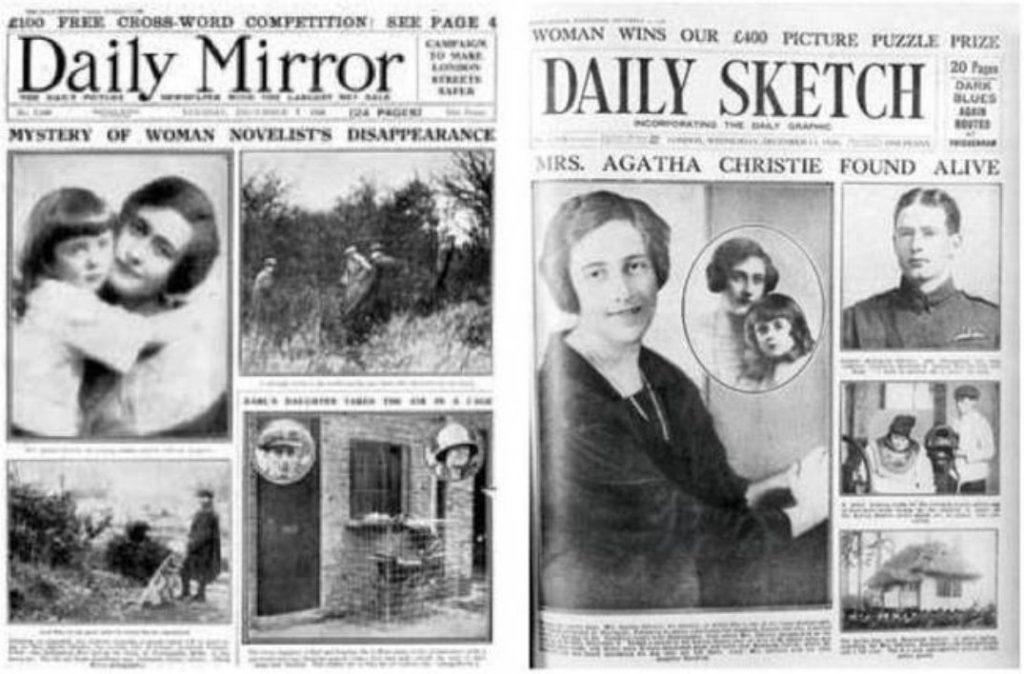 La desaparición de Agatha Christie
