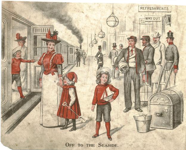 Los destinos favoritos de vacaciones de los victorianos