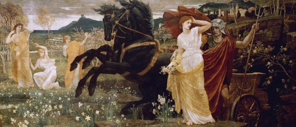El destino de Perséfone (El destino de Perséfone de Walter Crane)