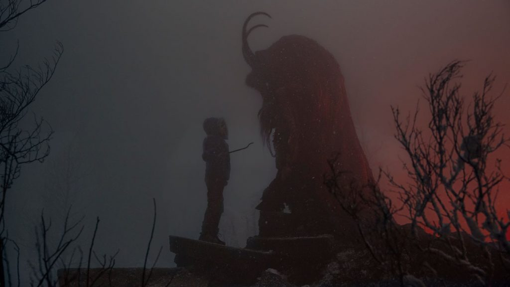 Krampus, el demonio de la Navidad