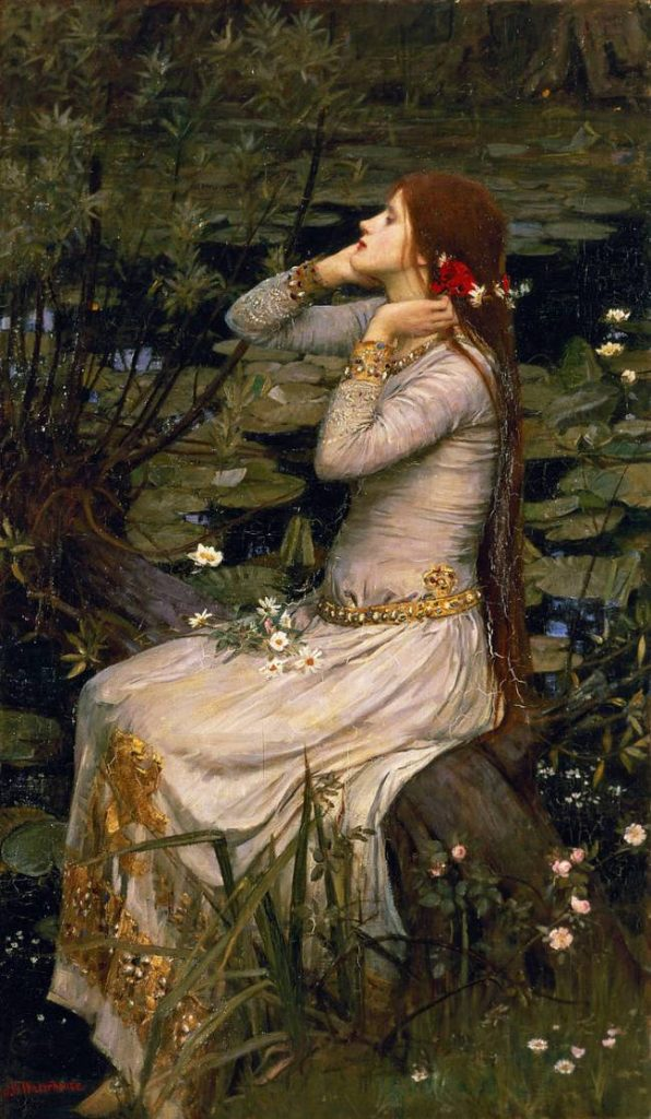 Ofelia de John William Waterhouse