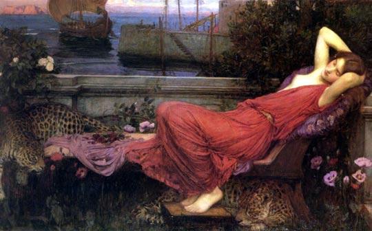 Ariadne de John William Waterhouse