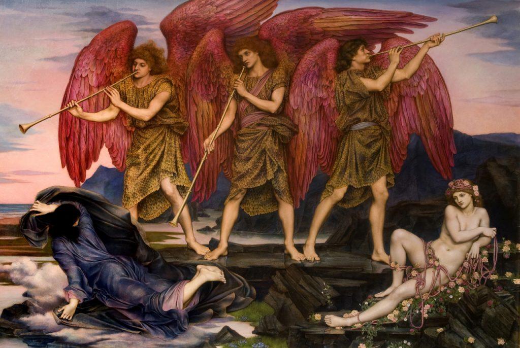 Aurora Triumphants de Evelyn de Morgan
