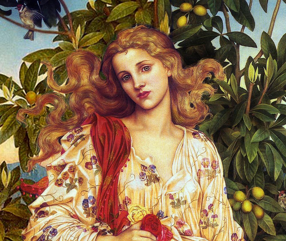 Flora de Evelyn de Morgan