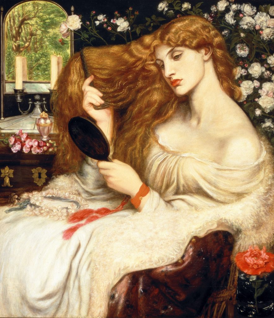 Lady Lilith de Dante Gabriel Rossetti