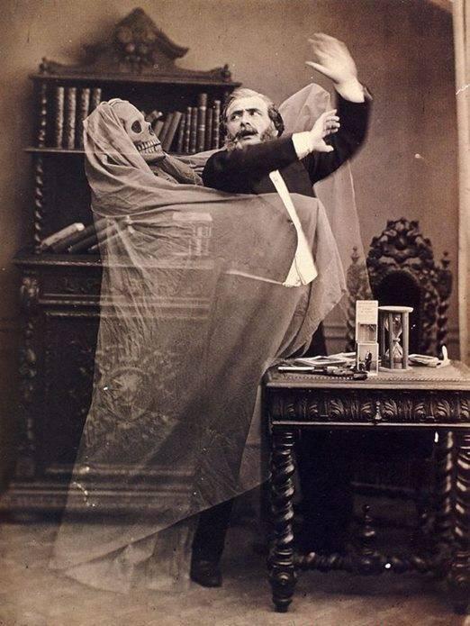Fotografía espiritual victoriana