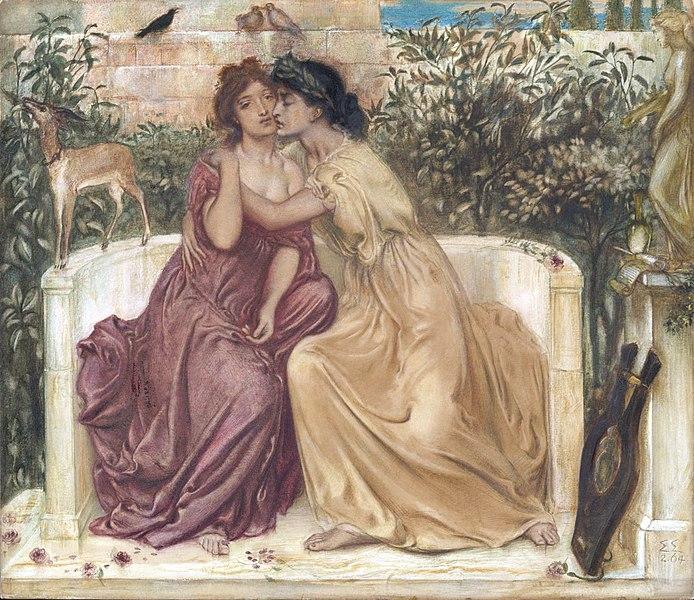 La homosexualidad en la época victoriana: Simeon Solomon