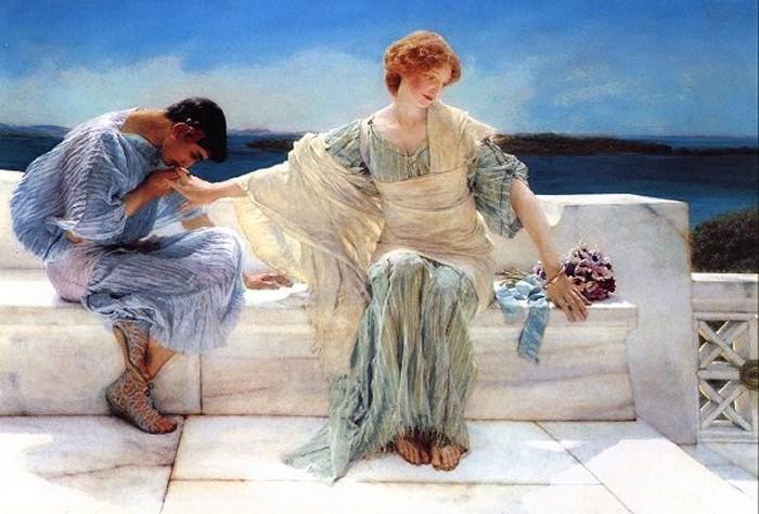 Lawrence Alma-Tadema: No me preguntes más