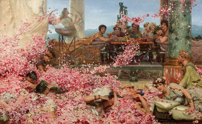 Lawrence Alma-Tadema: Las rosas de Heliogábalo