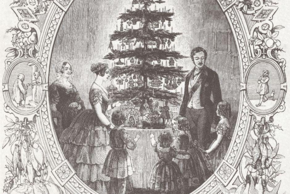 El festín navideño de la reina Victoria